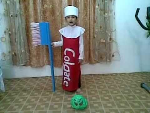Abdulla in Fancy Dress Competition in Unaizah International School KSA - YouTube