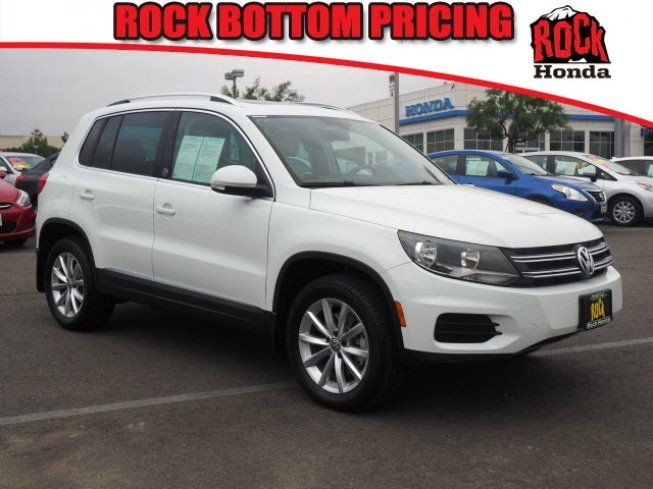 Used 2017 Volkswagen Tiguan FWD Wolfsburg Edition Sport Utility for sale near you in Fontana, CA. Get more information and car pricing for this vehicle on Autotrader.
