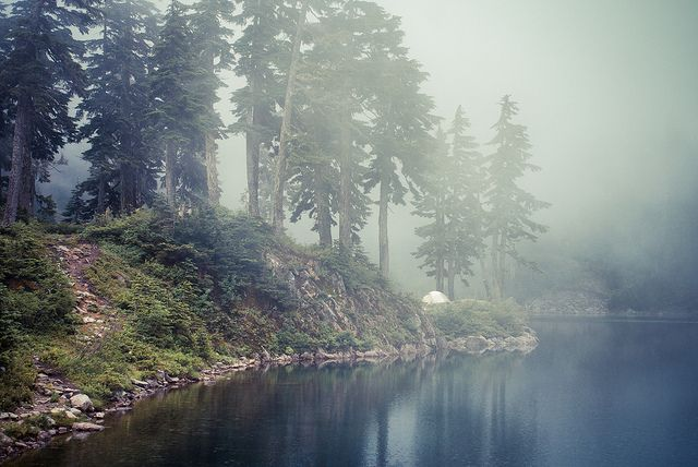 Lake Melakwa is a lake in King County, Washington photo by photosbysomeguy, via Flickr