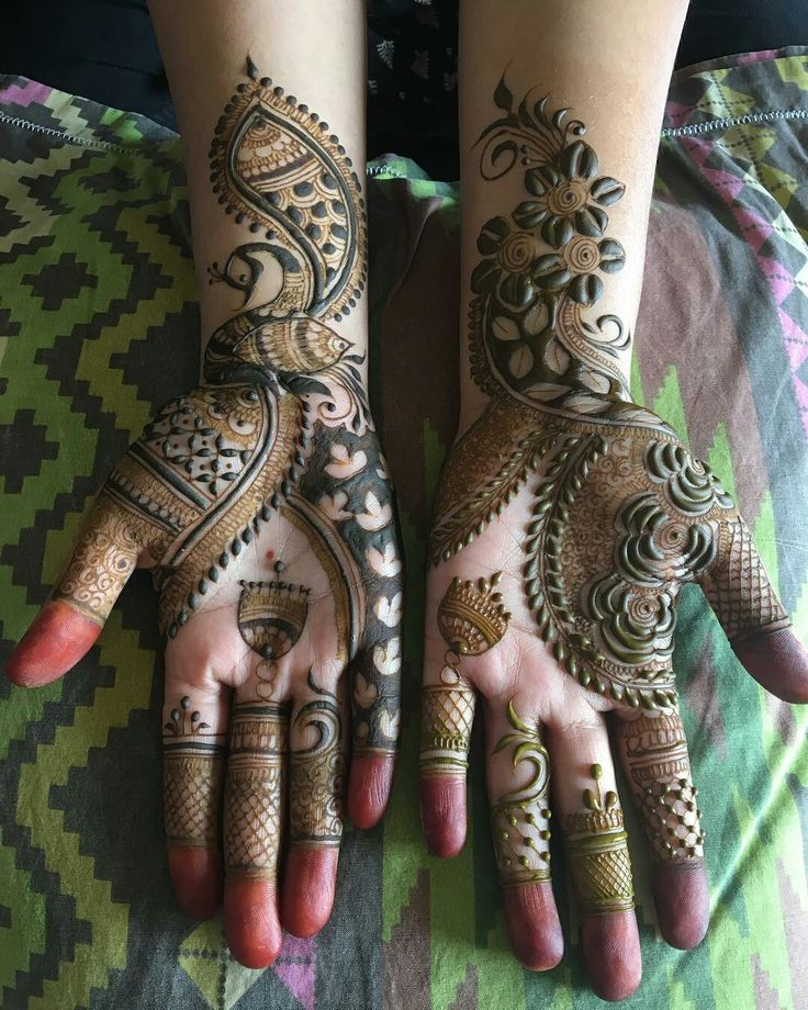 Wedding mehendi designs...