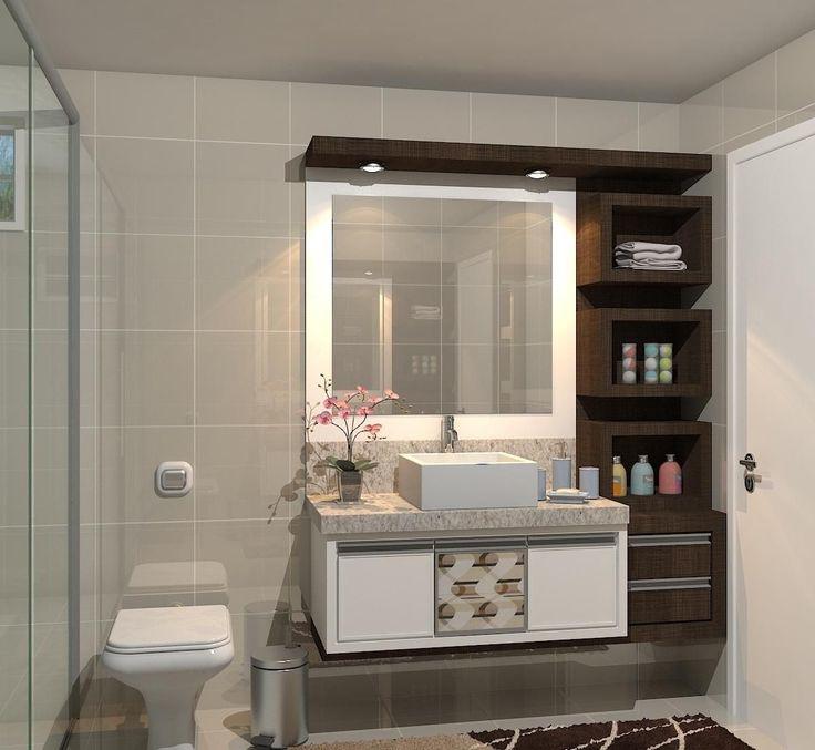 25+ best ideas about Armário Para Banheiro on Pinterest  Gabinete banheiro,  # Como Reformar Armario De Banheiro De Mdf