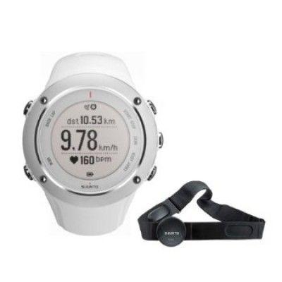 Relógio Suunto Men's Ambit 2S White Watch w/ Heart Rate Monitor #Relógio #Suunto