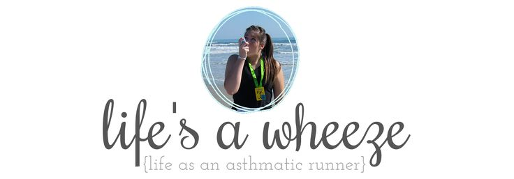life's a wheeze...a site where a girl with asthma gives tips about how to survive a run!!