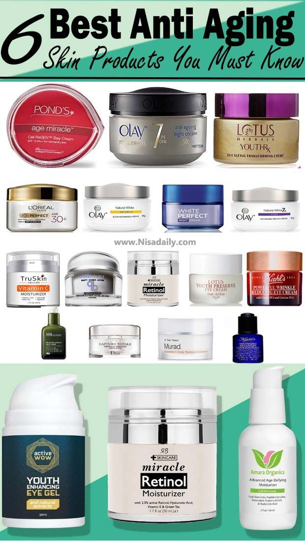 6 Best Anti Aging Skin Products You Must Know Nisadaily Com Anti Aging Skin Products Skin Care Wrinkles Best Anti Aging