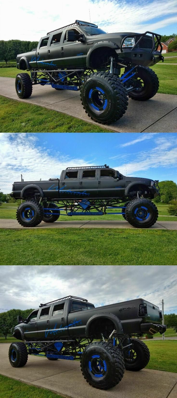 6 Door Truck : truck, Stretched, Custom, Truck, Lifted, Trucks,, Trucks, Sale,, Monster