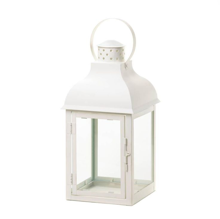 Gable White Lanterns