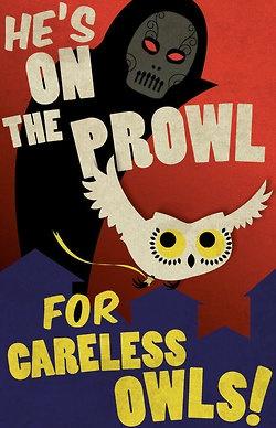 Harry Potter propaganda posters    illustrations by Kate Moore :: via etsy.com
