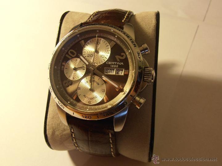 Reloj Cronógrafo automático Certina DS Valjoux 7750