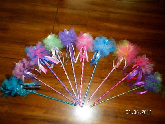 diy fairy tulle wands more fairy wands