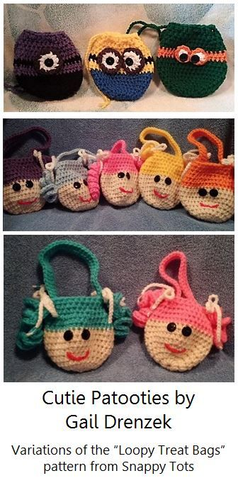 A Variety of Loopy Bags