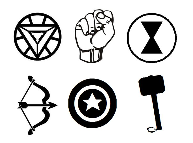 avengers logos stencil onto cup cakes visit to grab an amazing super hero shirt now on sale