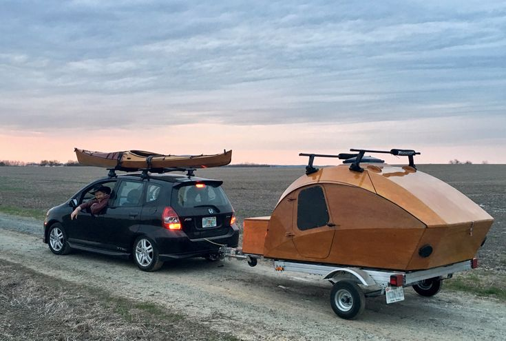 Build-your-own Teardrop Camper Kit and Plans