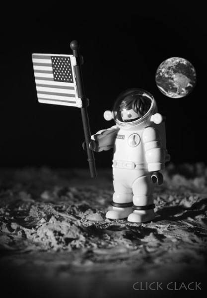 MOON playmobil - july 20 1969 Just one small step...