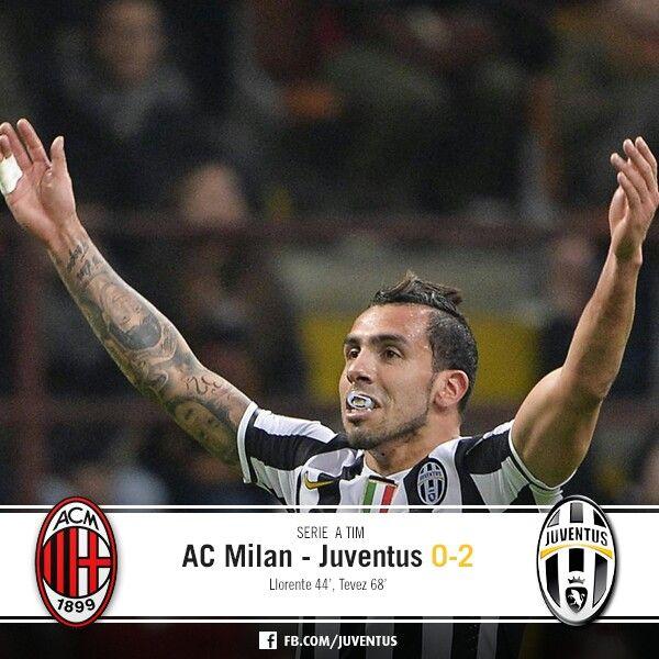 AC Milan-Juventus 0-2 ( Liorente.Teves )