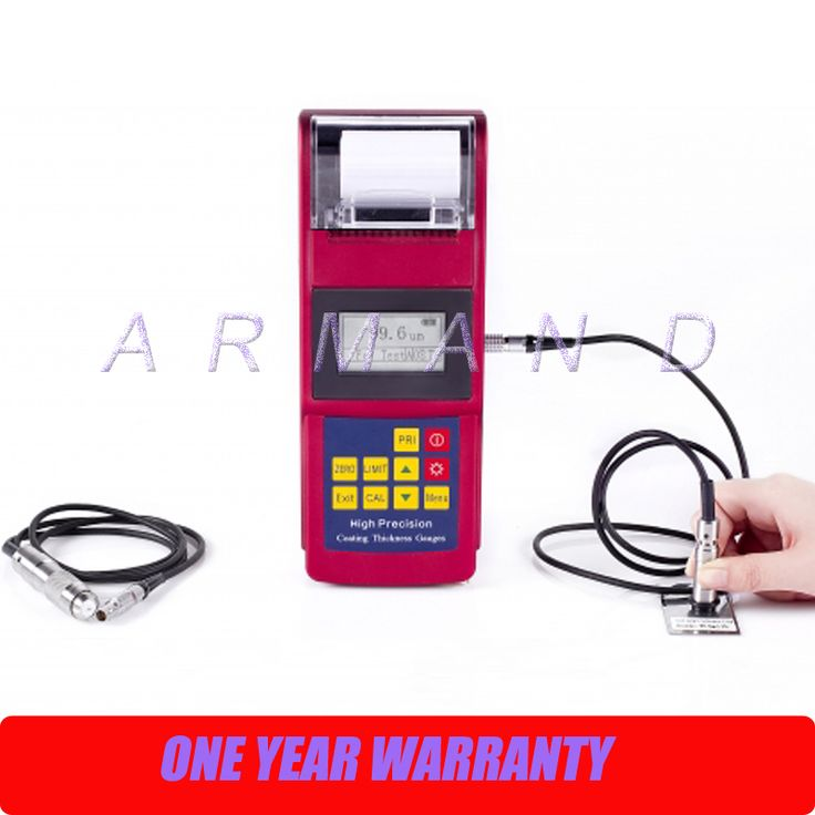 Coating Thickness Gauge Leeb262 Built-in Printer Thickness Tester Magnetic induction Eddy current