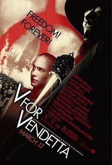 V for Vendetta is a 2006 dystopian thriller film directed by James McTeigue and produced by Joel Silver and the Wachowski brothers, who also wrote the screenplay. It is an adaptation of the V for Vendetta comic book by Alan Moore and David Lloyd.