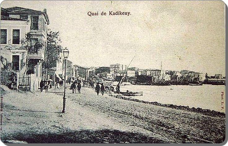 Kadıköy sahili - 1900 ler