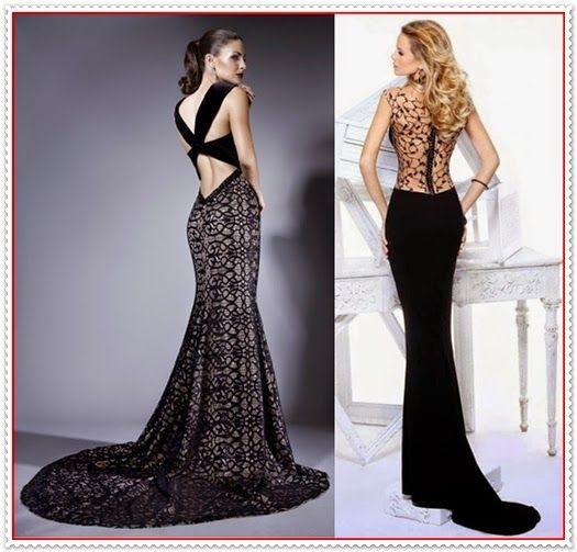 Kleid tiefer ausschnitt vorne