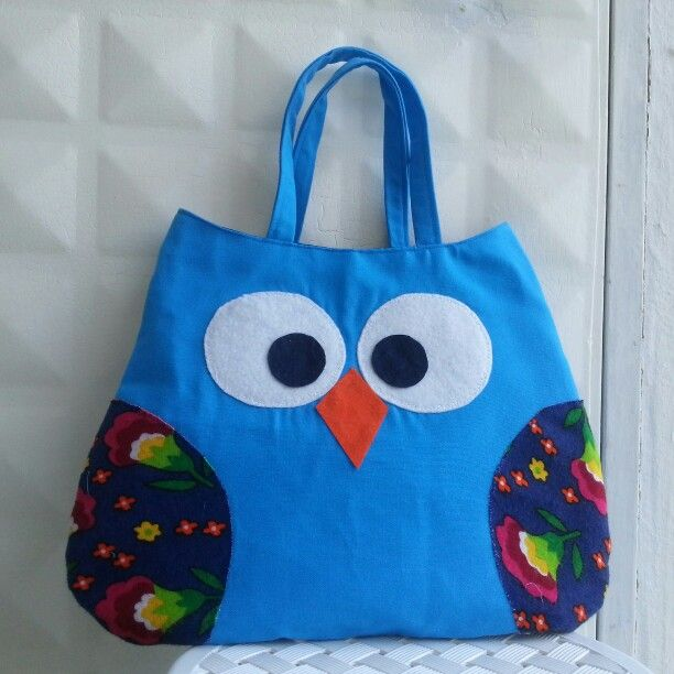 #Handmade #bag #owl
