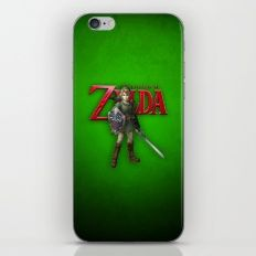 Zelda Sword iPhone & iPod Skin