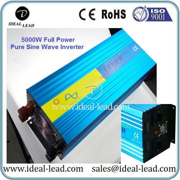 DC AC Pure Sine Wave Inverter 5000W 12V 24V 48V to 110V 220V