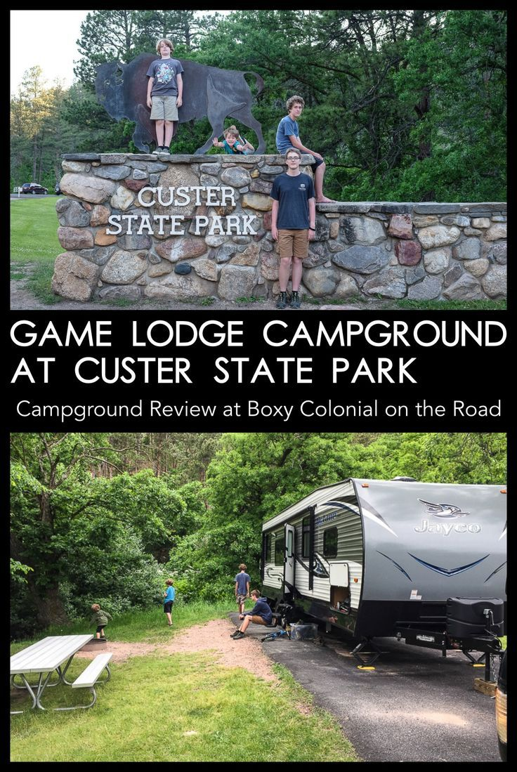 Game Lodge Campground at Custer State Park Campground