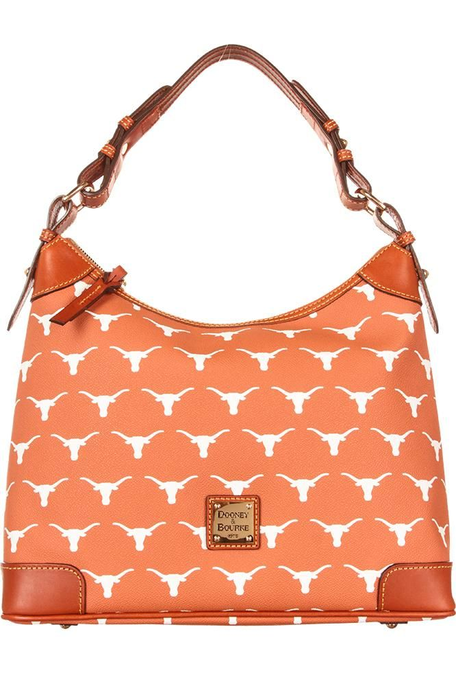 We Love This Burnt Orange Hobo Purse Made By Dooney Bourke Shoulder Bag Will Become Any Texas Longhorn S Fave Gifts Pinte