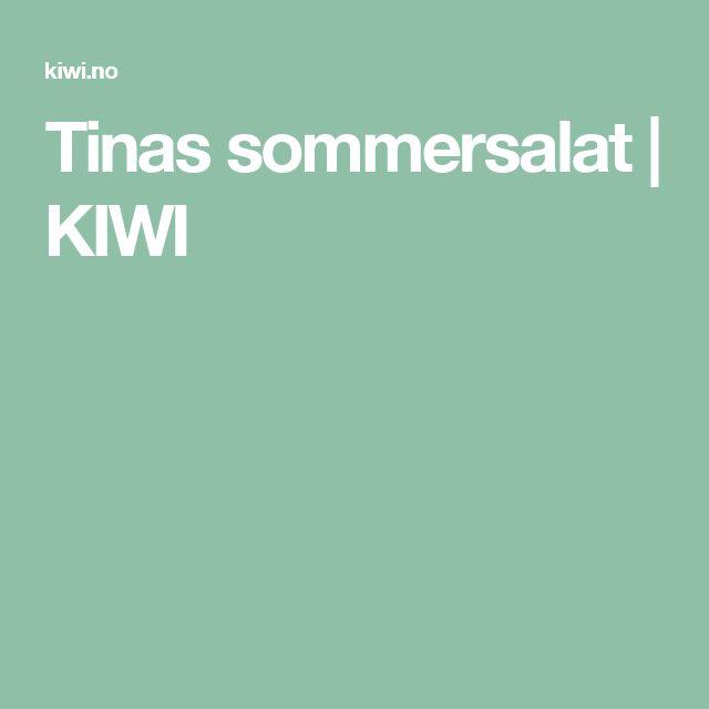 Tinas sommersalat | KIWI