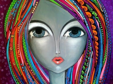 romina lerda art - YouTube