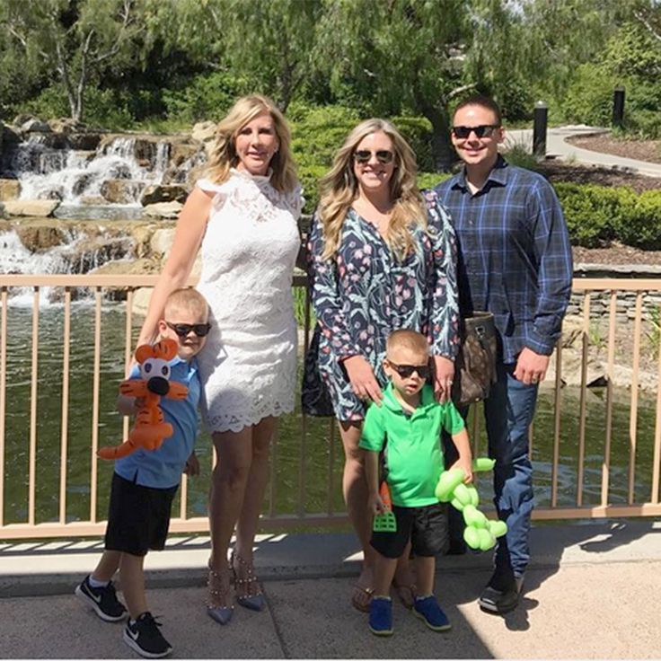 nice RHOC's Vicki Gunvalson Says Her Grandsons Are 'Rising Up Too Quick': Photograph