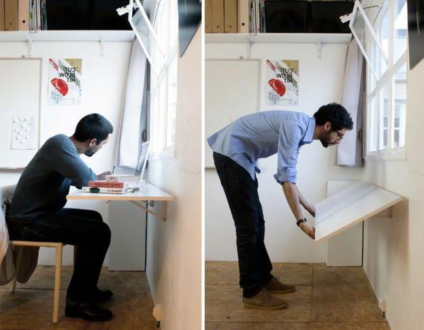 Складные столы для дома и офиса — 23 фото. Красивые интерьеры и дизайн