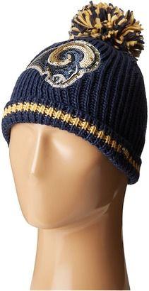 New Era Sequin Frost Los Angeles Rams #hat #womens