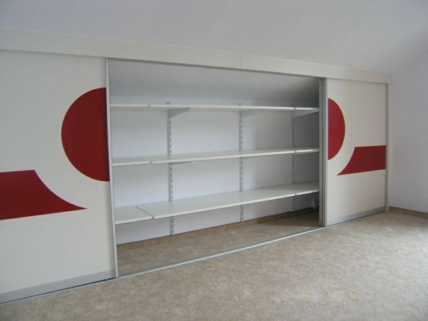kleiderschrank selber bauen schiebet ren rote figuren mein traumhaus pinterest selber. Black Bedroom Furniture Sets. Home Design Ideas