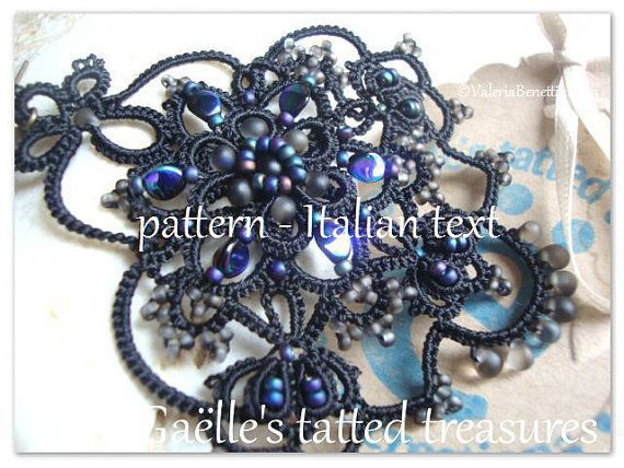 Pattern Tutorial chiacchierino per by gaestattedtreasures on Etsy