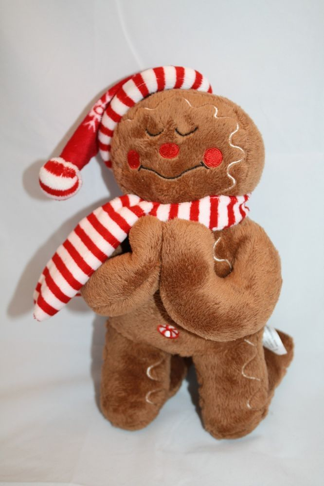 The Adorable Christmas Fiesta Plush Gingerbread Man