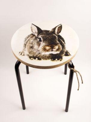 krukje sweet bunny studio thuis met Moon