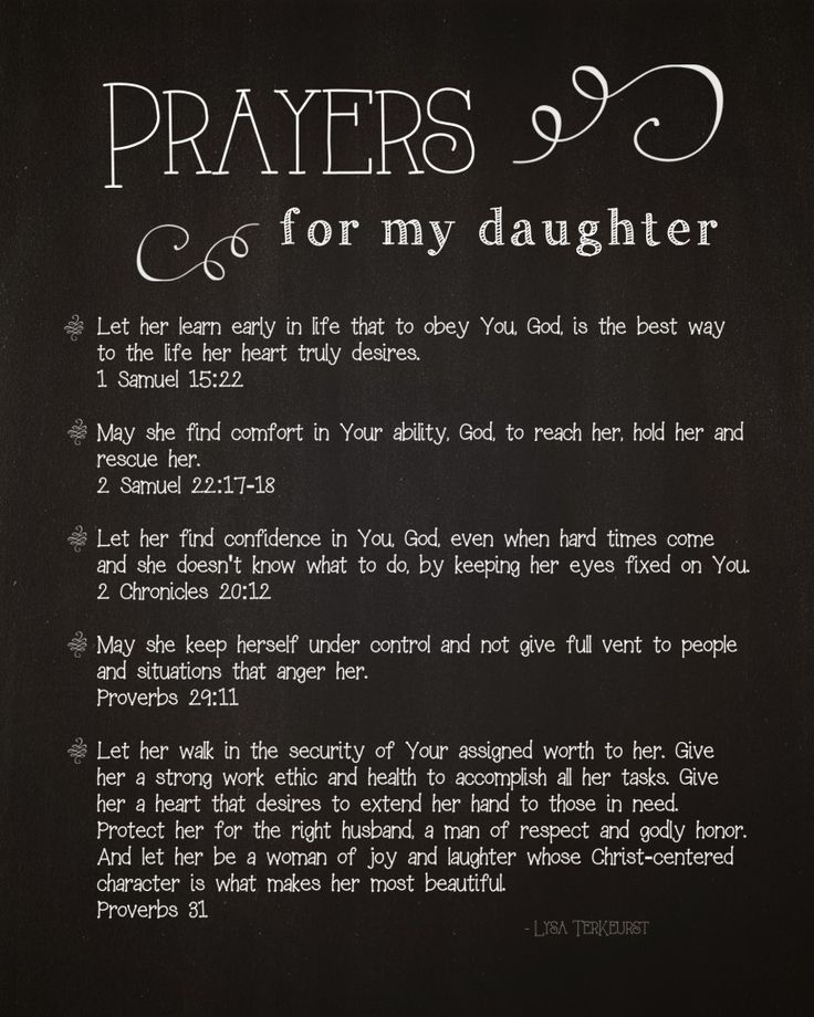 5 Prayers for My Daughter By Lysa Terkeurst. My future daughter in law