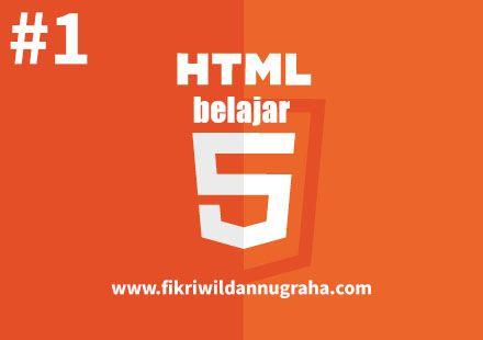 Belajar HTML Dasar Pemula Menggunakan Notepad pengertian keuntungan dan tutorial lengkap structure code dari head title body website dinamis statis