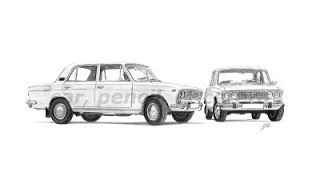 car, pencil, et cetera: Lada VAZ 2103-2106 Duo