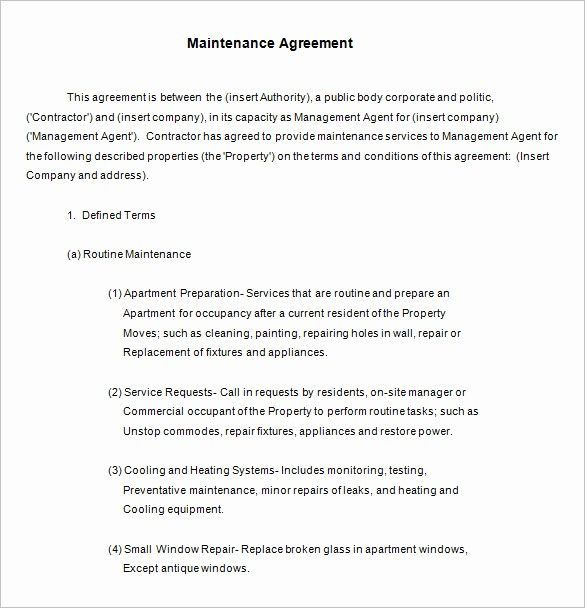 Lawn Maintenance Contract Template Free Inspirational 13 Maintenance Contract Templates Free Word Pdf Lawnmaintenance Lawn Maintenance Contract Template Free I In 2020