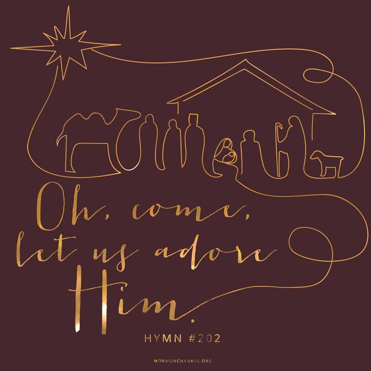 Oh, Come, Let Us Adore Him