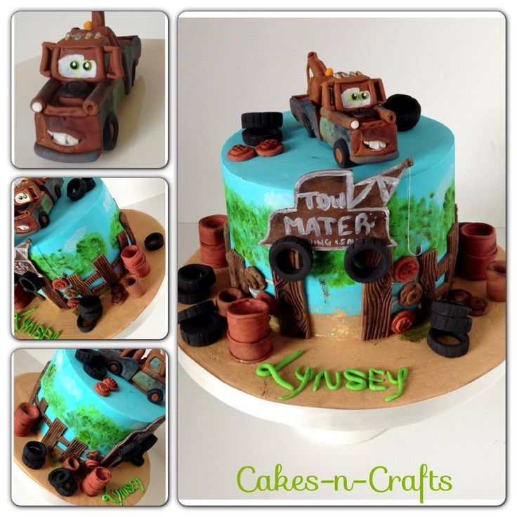 Tow Mater - Cakes-n-Crafts