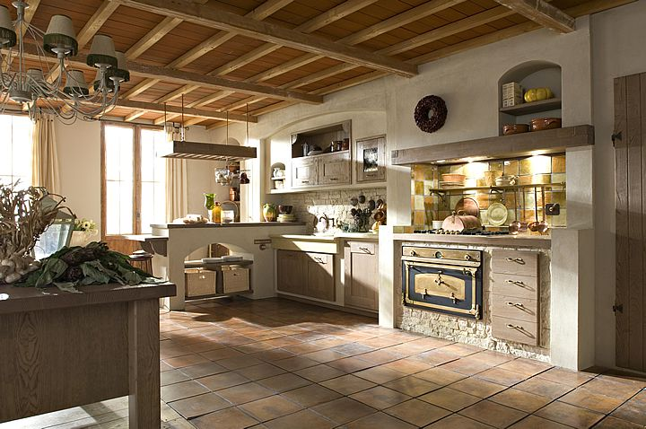 AURORA Cucine country kitchens, model Iris Intonacato. Not bad, huh?