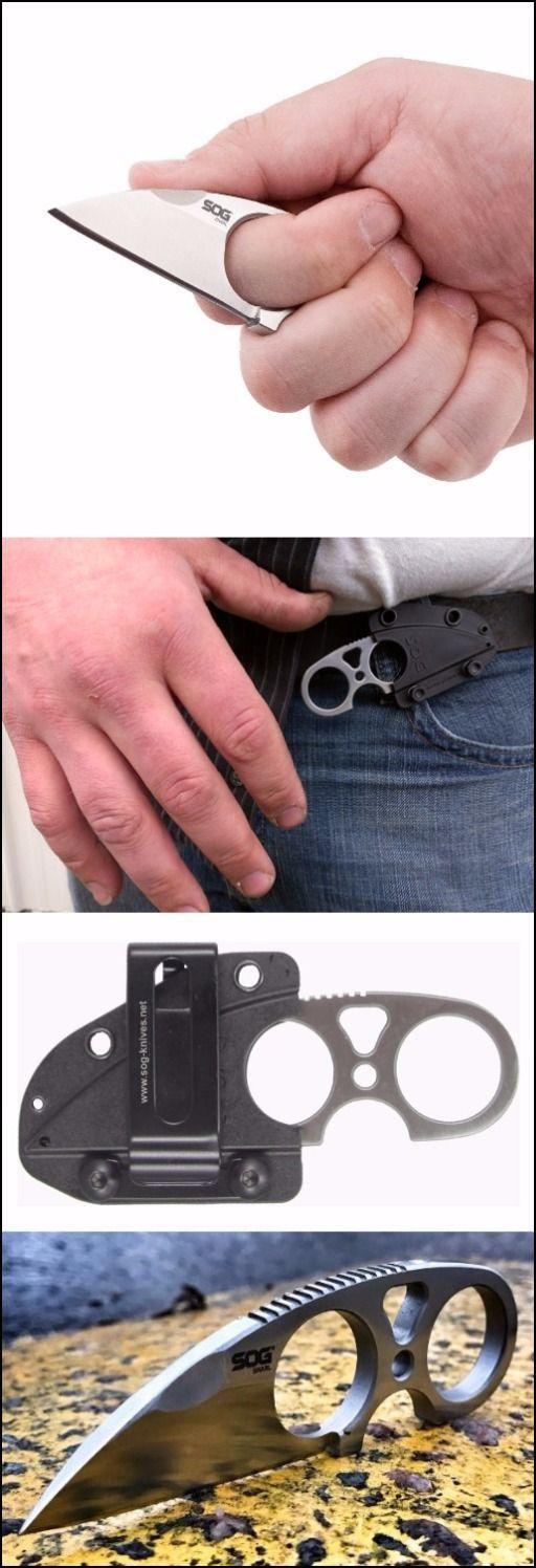 SOG Snarl EDC Fixed Blade Neck Knife @thistookmymoney