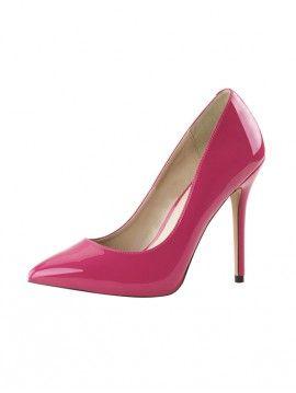 ESCARPIN CLASSIQUE ROSE FUSHIA VERNIS #chaussures #escarpin #Talonhaut #HautTalon #vernis #PleaserUSA #Paris #foxyladyparis