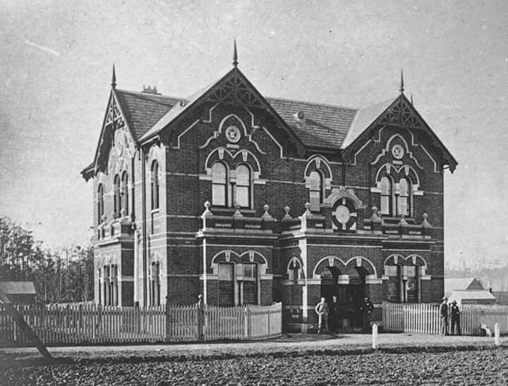 Warragul Post Office in Victoria (year unknown).