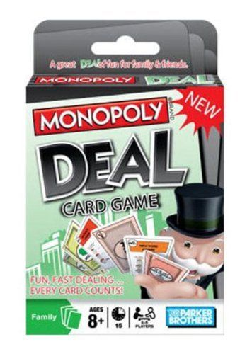 how do you play monopoly deal card game