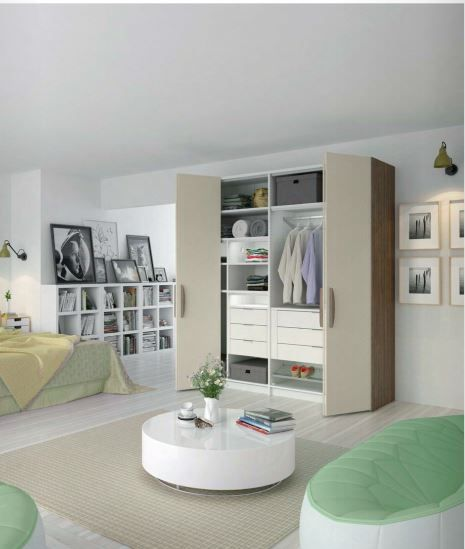 Hettich have doors & drawers to help you create your custom wardobe. Click on the pin to find out more #customwardrobe #wardrobeideas