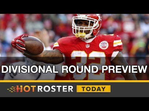 2017 Fantasy Football: NFL Divisional Round Picks   HotRoster Today