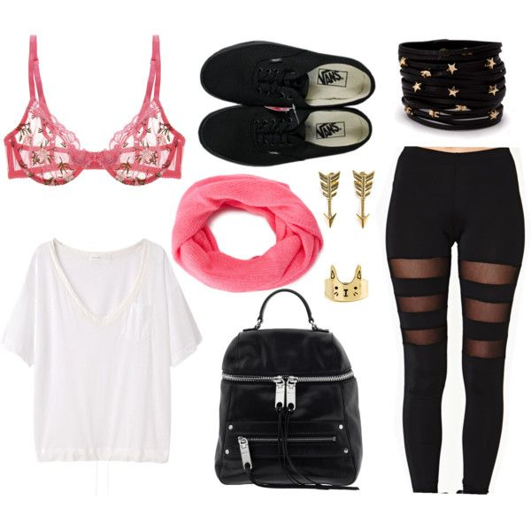"""""""pastel goth outfit"""" by princessfluffs on Polyvore 